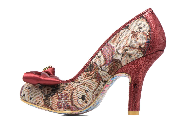 Zapatos de tacón Irregular choice French Fries Rojo vista de frente