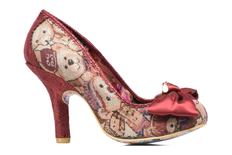 Zapatos de tacón Irregular choice French Fries Rojo vistra trasera