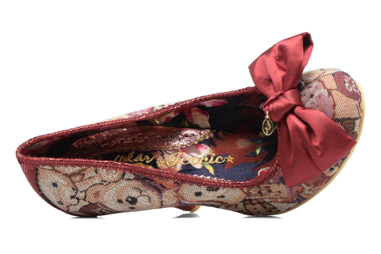 Zapatos de tacón Irregular choice French Fries Rojo vista lateral izquierda