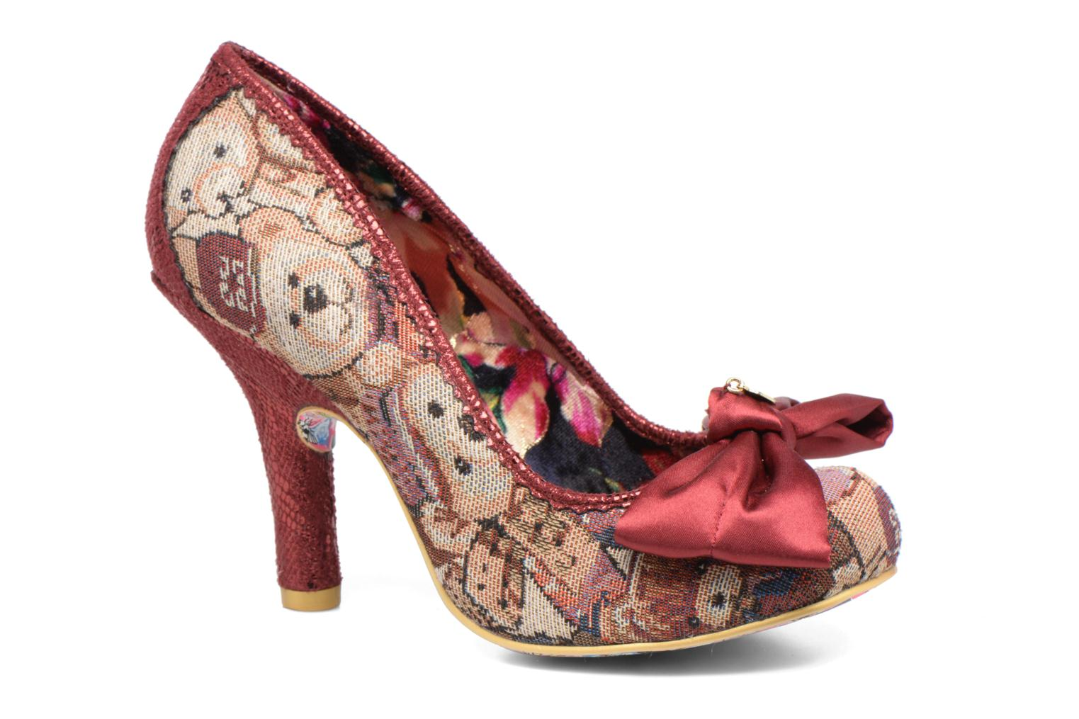 Marques Chaussure femme Irregular Choice femme French Fries Red Multi Fabric