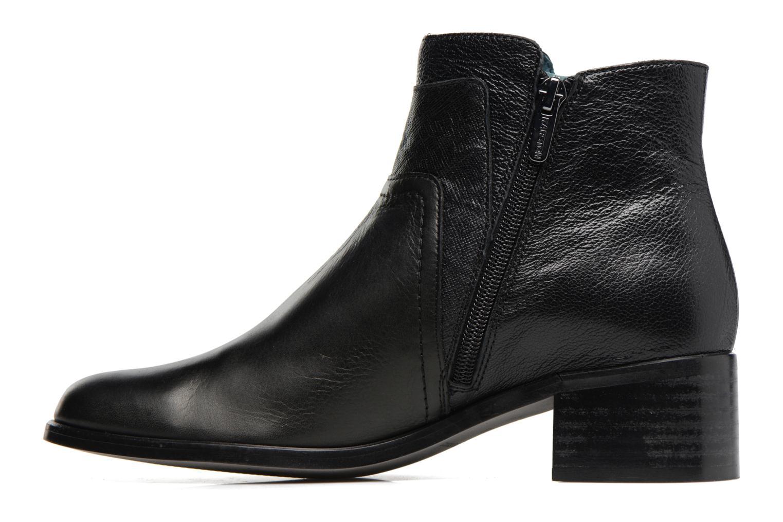 Bottines et boots Karston GLENO Noir vue face