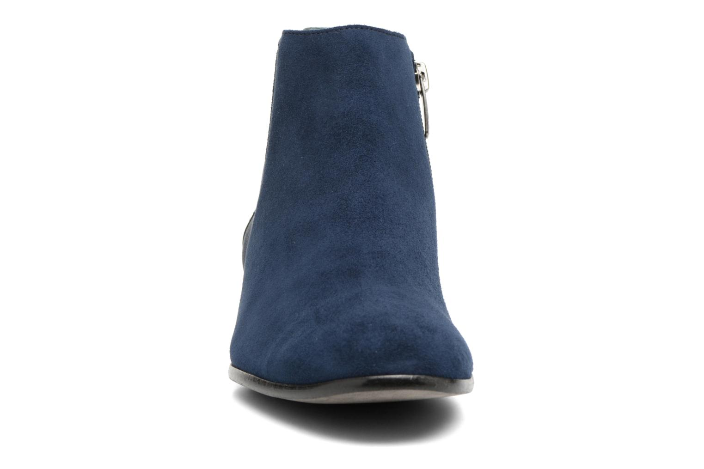 Stivaletti e tronchetti Karston JONIL Azzurro modello indossato