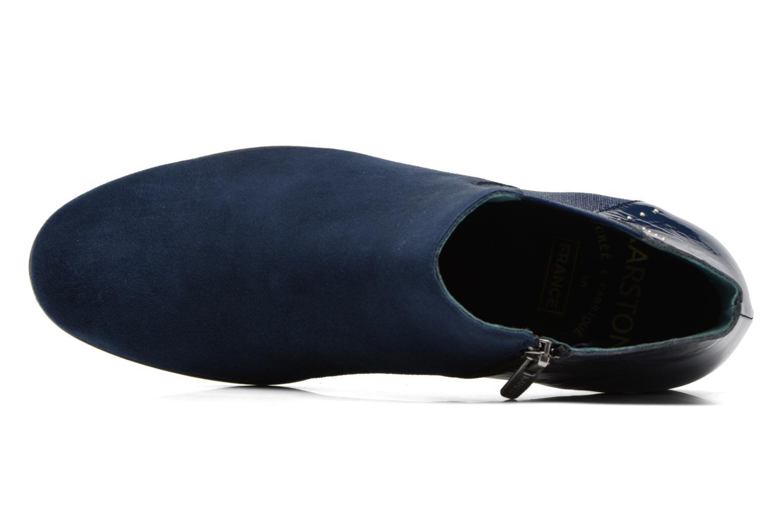 Stivaletti e tronchetti Karston JONIL Azzurro immagine sinistra