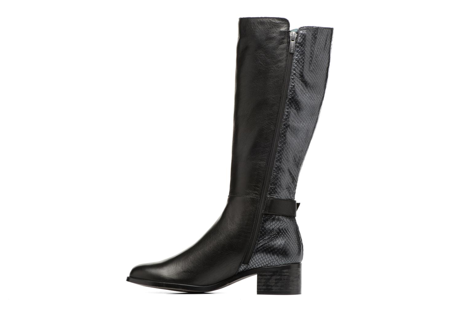 Boots & wellies Karston GLEVINA Black front view