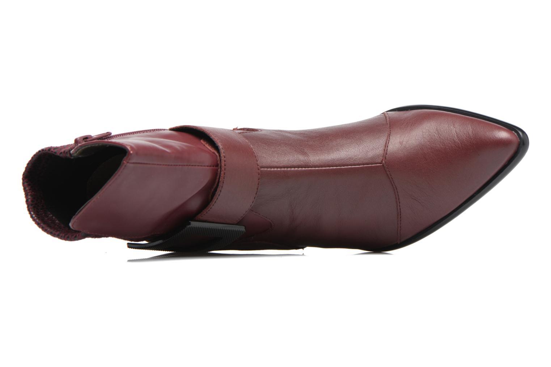 Boots en enkellaarsjes Madison AYDIVA Bordeaux links