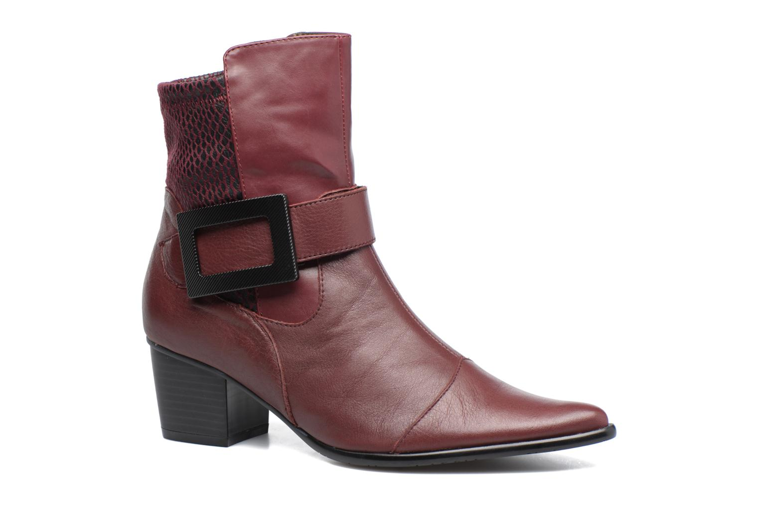 Ankle boots Madison AYDIVA Burgundy detailed view/ Pair view