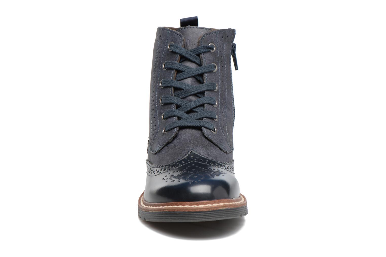 Bottines et boots S.Oliver Ariane Bleu vue portées chaussures