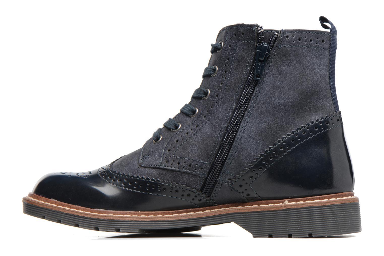 Bottines et boots S.Oliver Ariane Bleu vue face