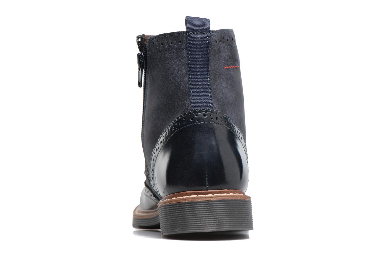Bottines et boots S.Oliver Ariane Bleu vue droite