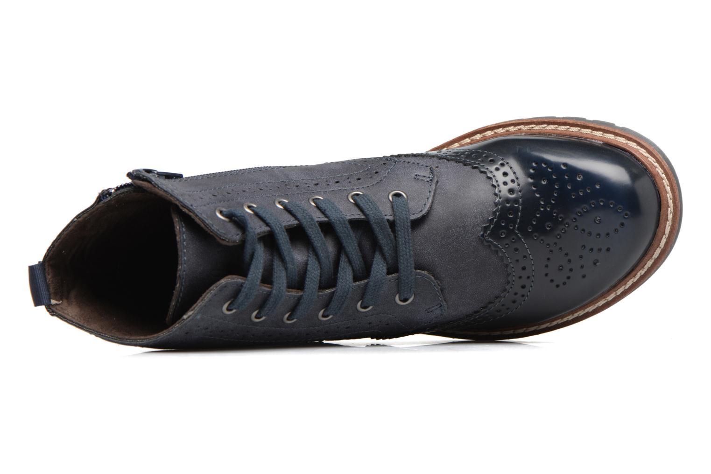 Bottines et boots S.Oliver Ariane Bleu vue gauche
