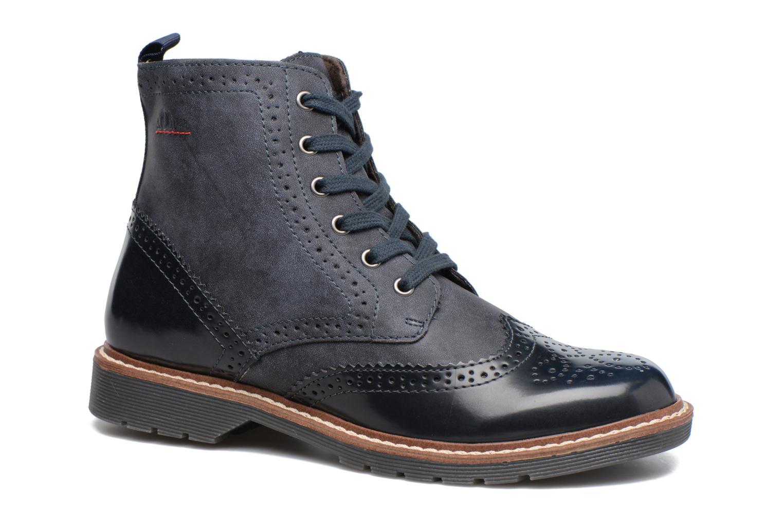 Bottines et boots S.Oliver Ariane Bleu vue détail/paire