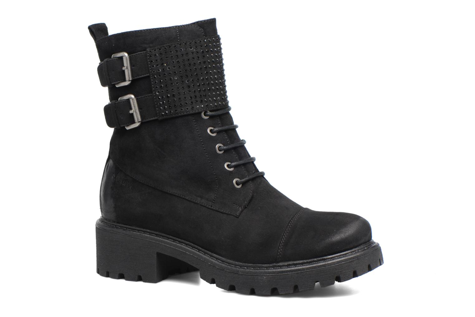 ZapatosS.Oliver  Hannah (Negro) - Botines  ZapatosS.Oliver   Casual salvaje a13d04