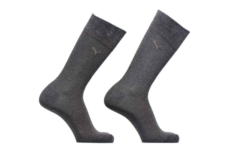 Chaussettes et collants Puma Socks CLASSIC SOCKS LOT DE 2 Gris vue détail/paire