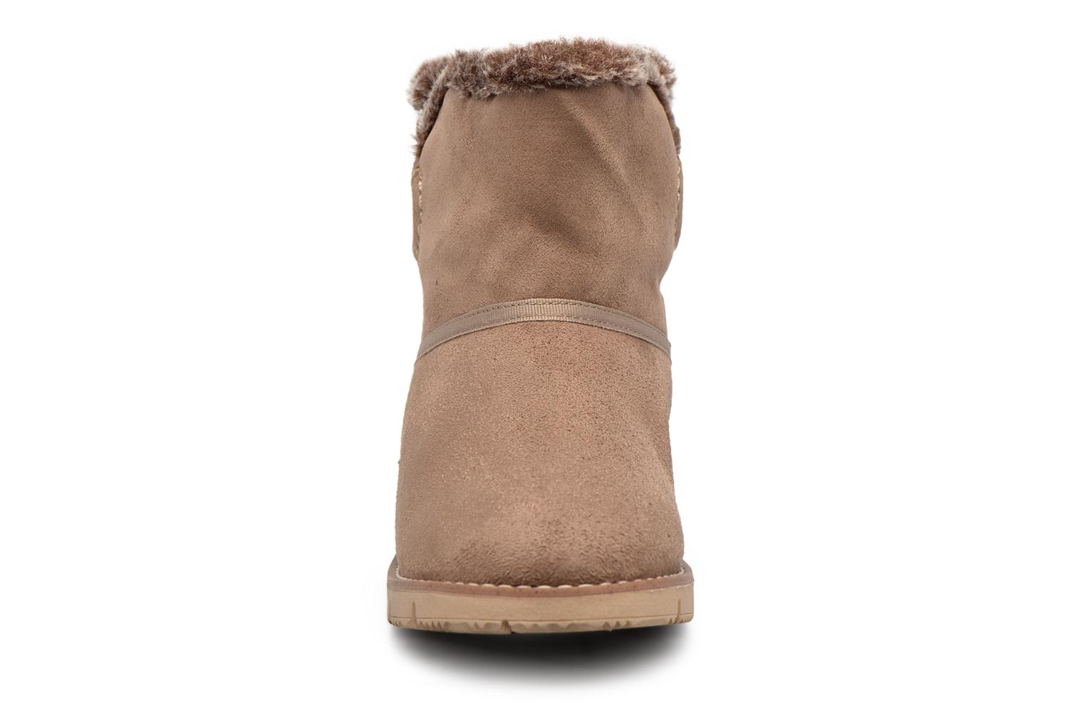Ankle boots Tom Tailor Rose Beige model view