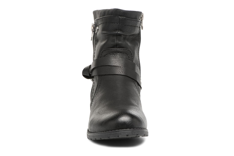 Bottines et boots Tom Tailor Rachel Noir vue portées chaussures