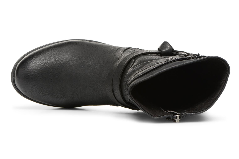 Bottines et boots Tom Tailor Rachel Noir vue gauche