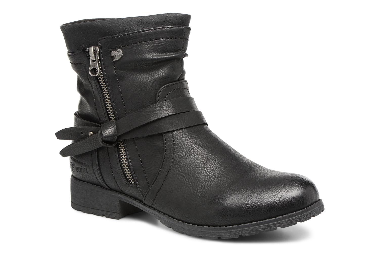 Bottines et boots Tom Tailor Rachel Noir vue détail/paire