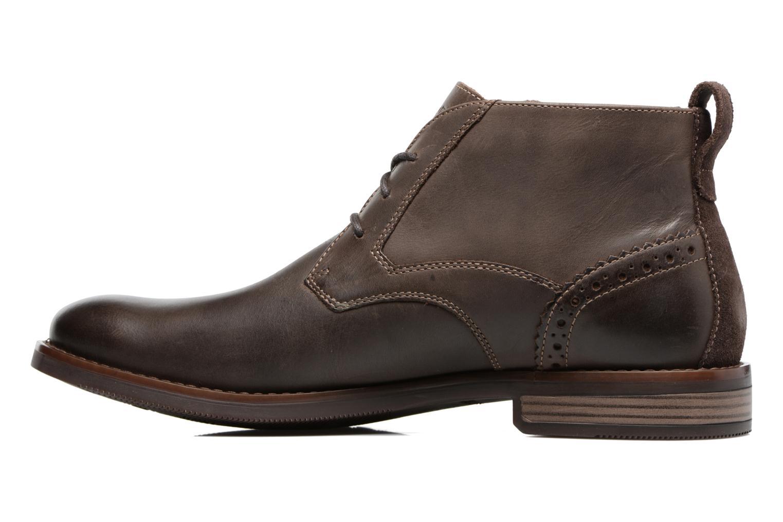 Bottines et boots Rockport Wynstin Chukka Marron vue face