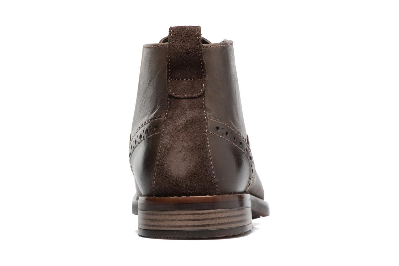 Bottines et boots Rockport Wynstin Chukka Marron vue droite