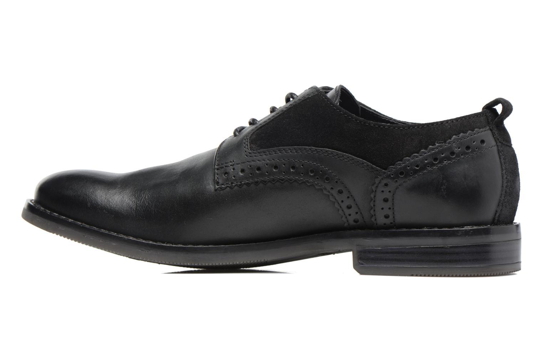 Chaussures à lacets Rockport Wynstin Plain Toe Noir vue face