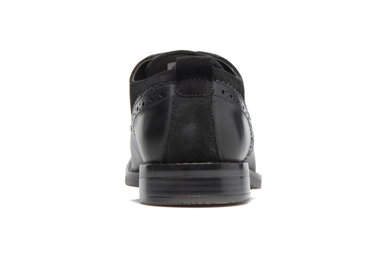 Chaussures à lacets Rockport Wynstin Plain Toe Noir vue droite