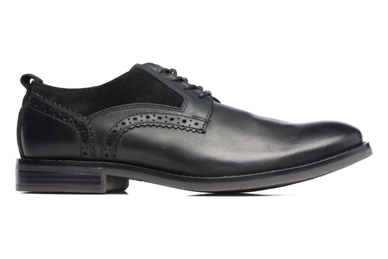 Chaussures à lacets Rockport Wynstin Plain Toe Noir vue derrière