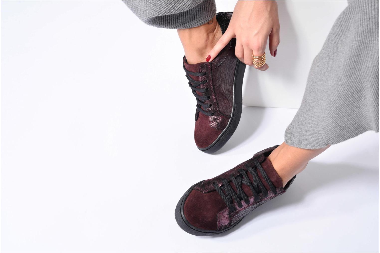 Sneaker Georgia Rose Cemoi schwarz ansicht von unten / tasche getragen