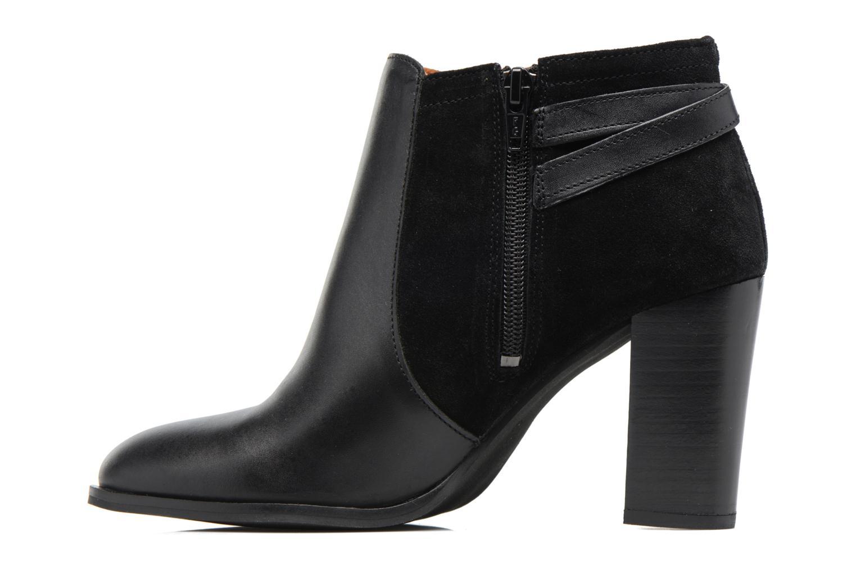 Bottines et boots Georgia Rose Cefema Noir vue face