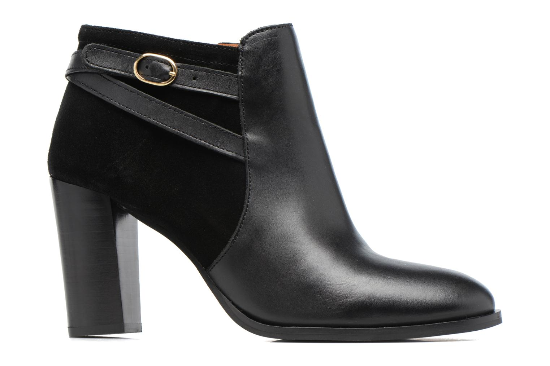 Bottines et boots Georgia Rose Cefema Noir vue derrière