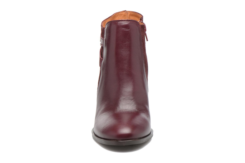 Bottines et boots Georgia Rose Cefema Bordeaux vue portées chaussures