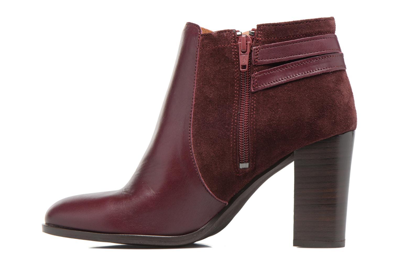 Bottines et boots Georgia Rose Cefema Bordeaux vue face
