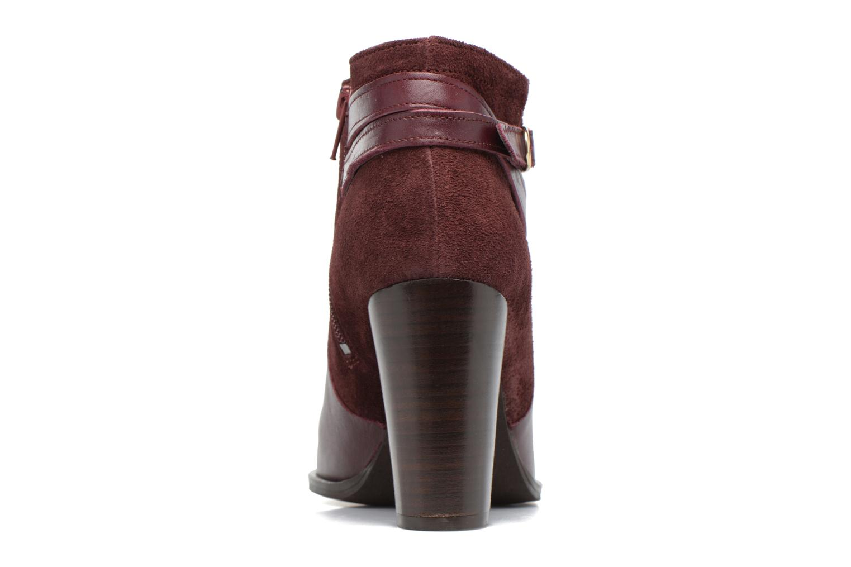 Bottines et boots Georgia Rose Cefema Bordeaux vue droite