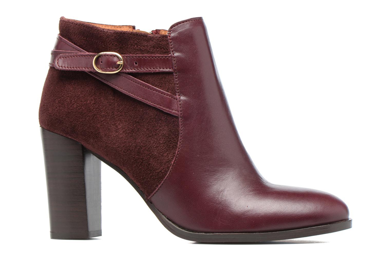 Bottines et boots Georgia Rose Cefema Bordeaux vue derrière