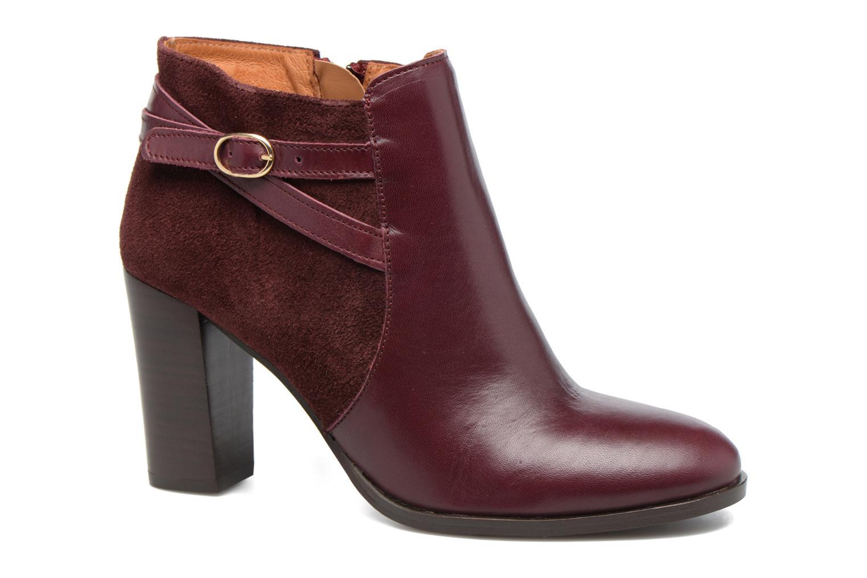 Bottines et boots Georgia Rose Cefema Bordeaux vue détail/paire