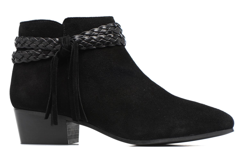 Bottines et boots Georgia Rose Cewest Noir vue derrière