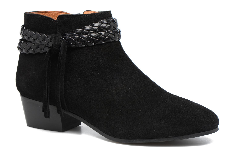 Bottines et boots Georgia Rose Cewest Noir vue détail/paire