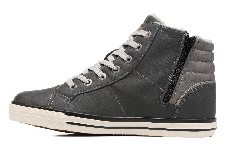 Baskets Mustang shoes Elia Gris vue face