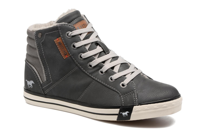 Baskets Mustang shoes Elia Gris vue détail/paire