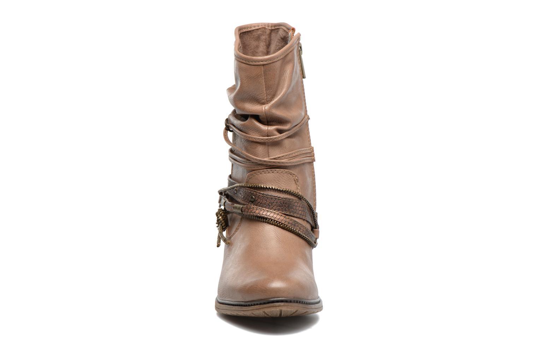 Bottines et boots Mustang shoes Louison 2 Marron vue portées chaussures