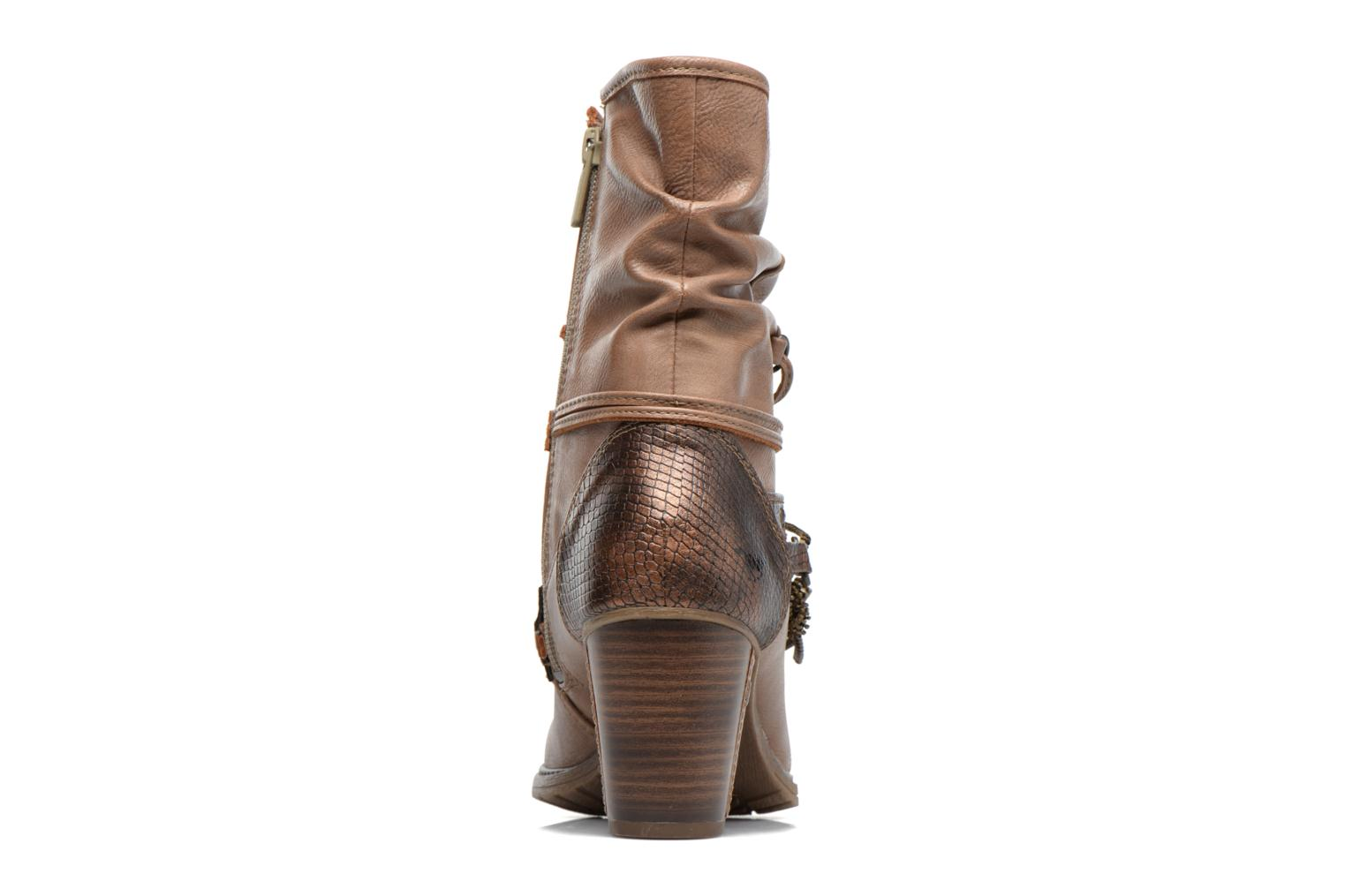 Ankle boots Mustang shoes Louison 2 Brown view from the right