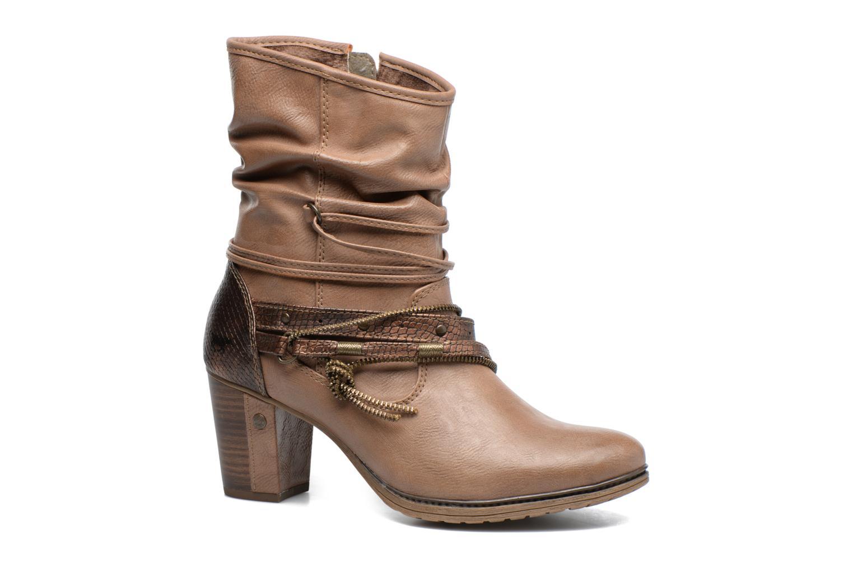 Bottines et boots Mustang shoes Louison 2 Marron vue détail/paire