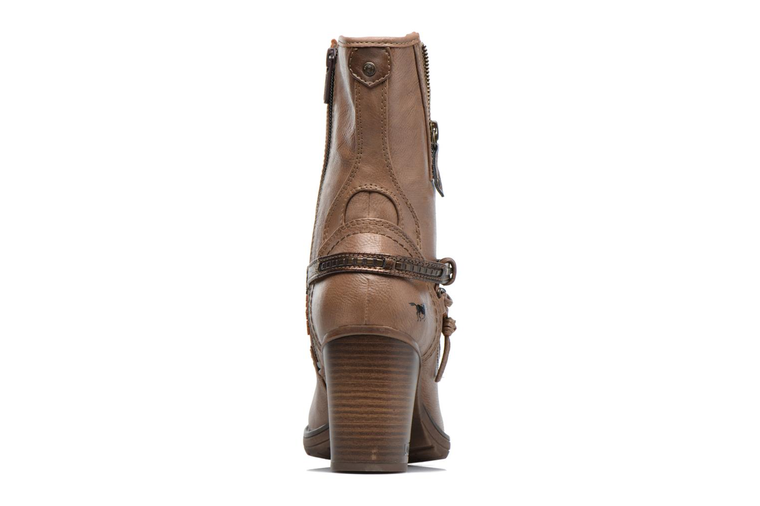 Boots & wellies Mustang shoes Taia Brown view from the right