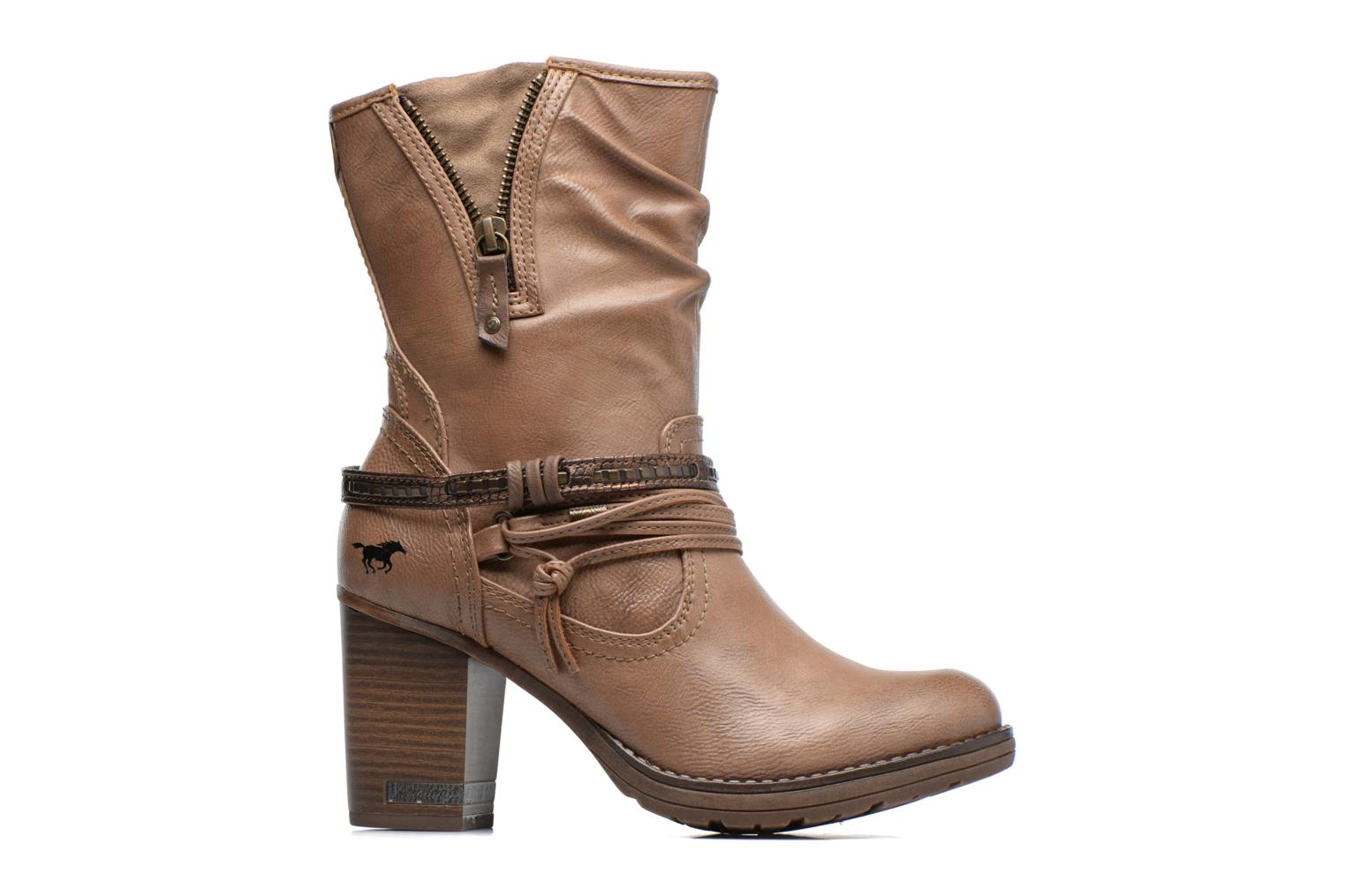 Boots & wellies Mustang shoes Taia Brown back view