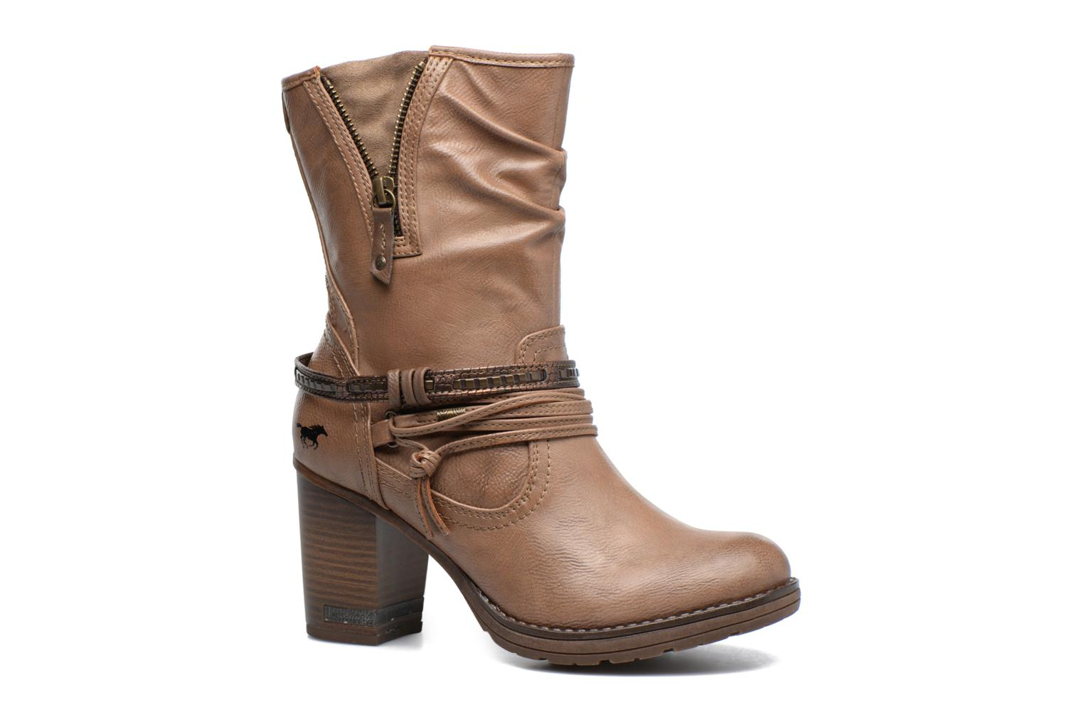 Boots & wellies Mustang shoes Taia Brown detailed view/ Pair view