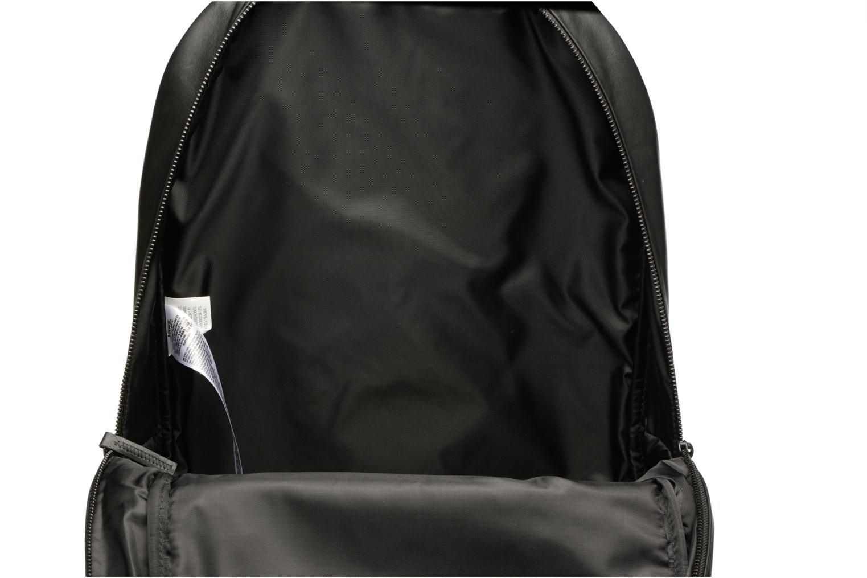 Sacs à dos Vans KL Leather Backpack Noir vue derrière