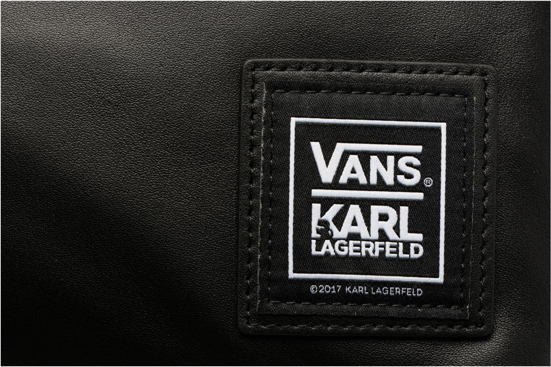 Sacs à dos Vans KL Leather Backpack Noir vue gauche
