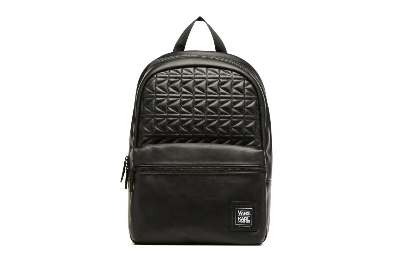Sacs à dos Vans KL Leather Backpack Noir vue détail/paire