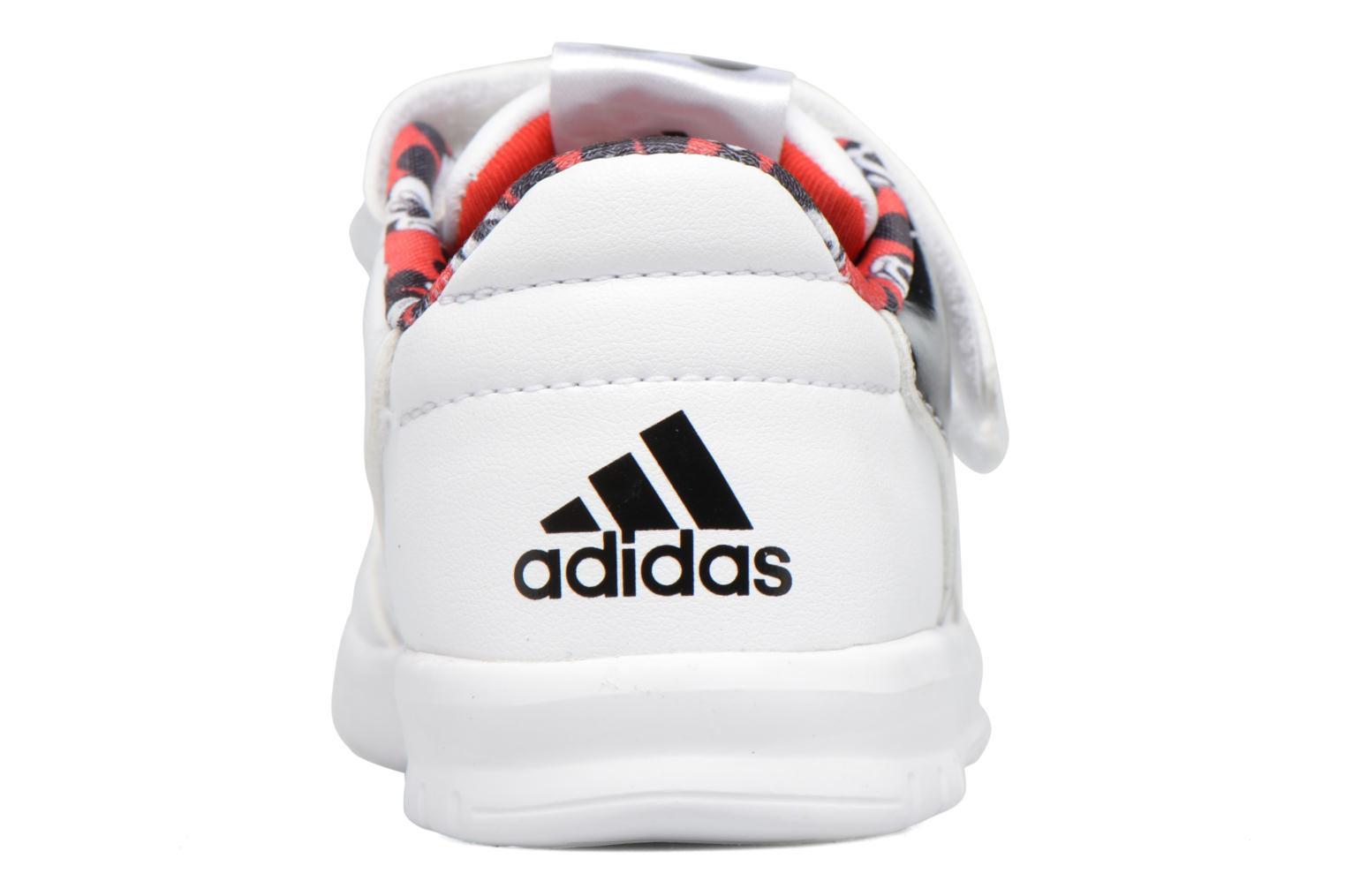 Baskets Adidas Performance Dy M&M Altasport Cf I Blanc vue droite