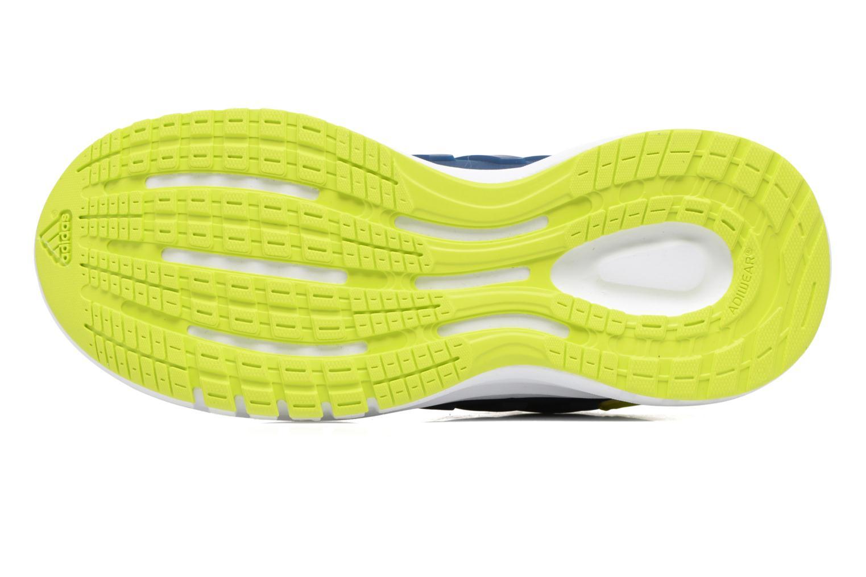 Chaussures de sport Adidas Performance Galaxy 4 K Bleu vue haut