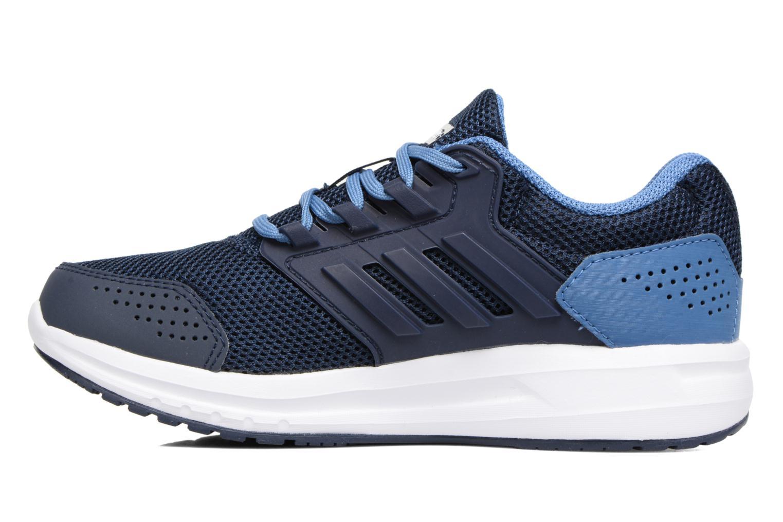 Sportschuhe Adidas Performance Galaxy 4 K blau ansicht von vorne